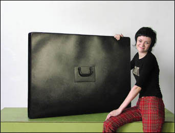 30x40 inch portfolio case for tabletop display